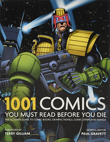 1001 Comics You Must Read Before You Die By Paul Gravett