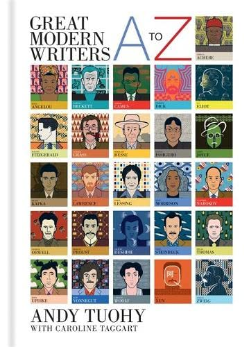 A-Z Great Modern Writers By Andy Tuohy