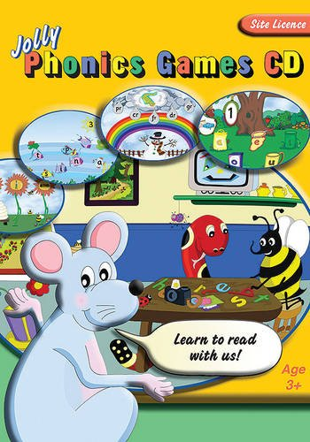 Jolly Phonics Games CD (site licence) By Sara Wernham