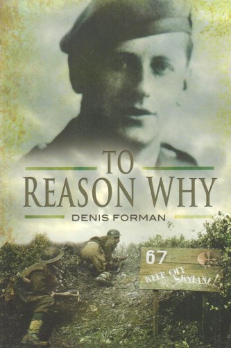 To Reason Why By Sir Denis Forman