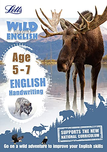 English-Handwriting-Age-5-7-Letts-Wild-About-by-Letts-KS1-184419888X-The