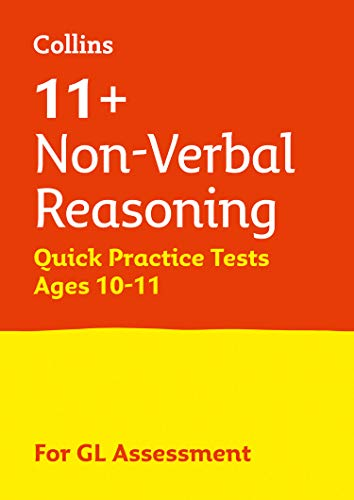 11+ Non-Verbal Reasoning Quick Practice Tests Age 10-11 (Year 6) By Letts 11+