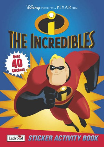Incredibles Sticker Activity Book