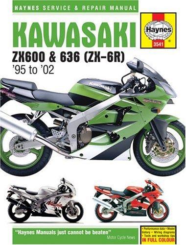 Kawasaki ZX-6R Service and Repair Manual by Matthew Coombs