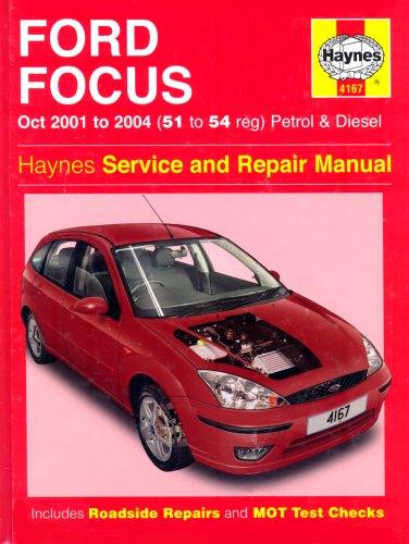 Ford Focus Petrol and Diesel: 2001-2004 (Hayne... by Randall, Martynn Board book