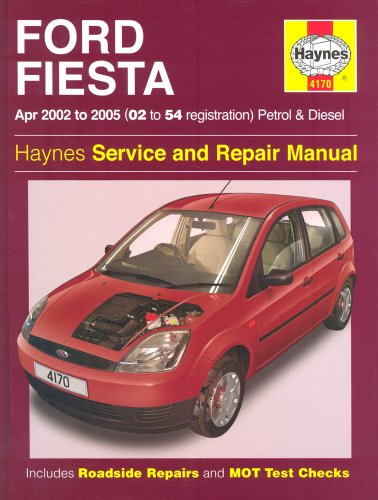 Ford Fiesta Petrol and Diesel Service and Repair Manual: 2002 to 2005 - Does not cover 1.6 diesel (Haynes Service & Repair Manuals) By R. M. Jex