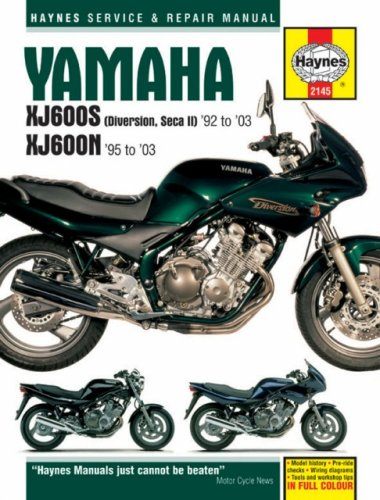 Yamaha XJ600S and XJ600N Service and Repair Manual By Alan Ahlstrand