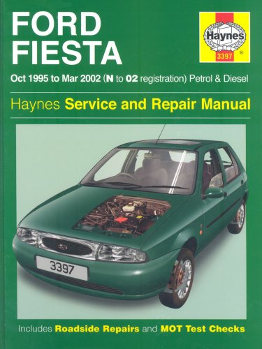Ford Fiesta Service and Repair Manual: Petrol and Diesel 1995-2002 by Steve Rendle