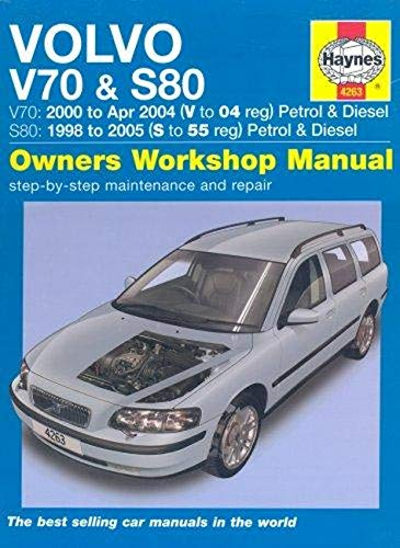 Volvo V70 and S80 Petrol and Diesel Service and Repair Manual By Martynn Randall