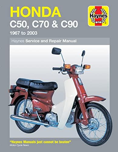 Honda C50, C70 & C90 (67 - 03) By Jeremy Churchill