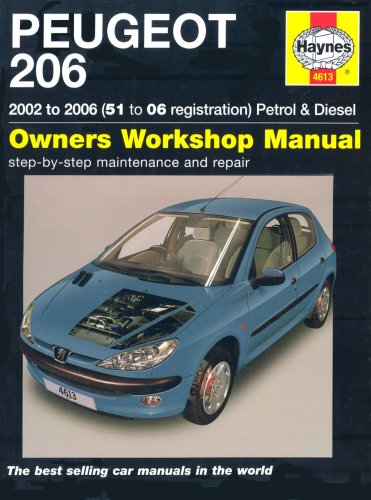 Peugeot 206: 2002 to 2006 Petrol and Diesel Owners Workshop Manual (Service & repair manuals) By Peter T. Gill