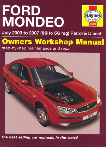 Ford Mondeo Petrol and Diesel Service and Repair Manual By R. M. Jex