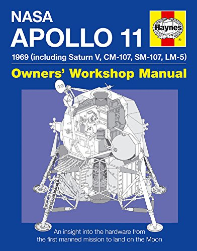 Apollo 11 Manual: An Insight into the Hardware from the First Manned Mission to Land on the Moon by Chris Riley