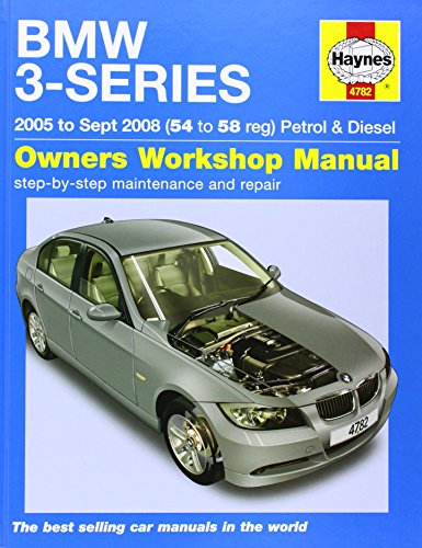 BMW 3-Series Petrol and Diesel Service and Repair Manual By Martynn Randall