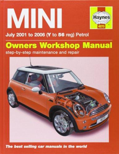Mini (Petrol) Service and Repair Manual By Martynn Randall