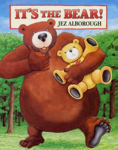 It's The Bear Board Book By Jez Alborough