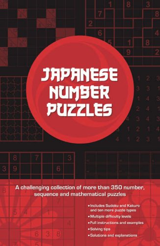 Japanese Number Puzzles by Tony Yoogi