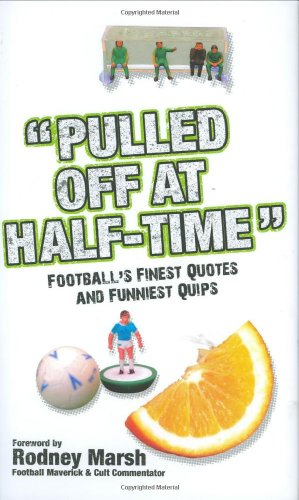 """""""Pulled Off at Half-time"""" By Stuart Reeves"""