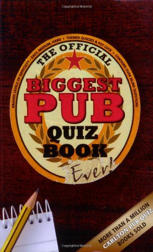 The Biggest Pub Quiz Book Ever! by Roy Preston