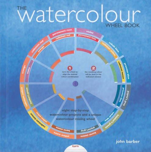 Watercolour Wheel Book By John Barber