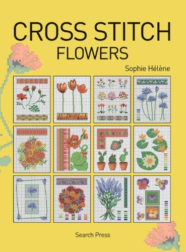Cross Stitch Flowers By Sophie Helene