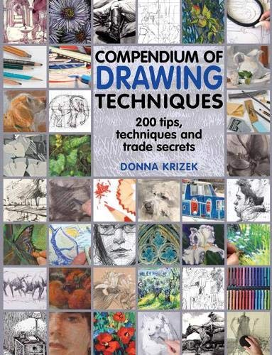 Compendium of Drawing Techniques By Donna Krizek