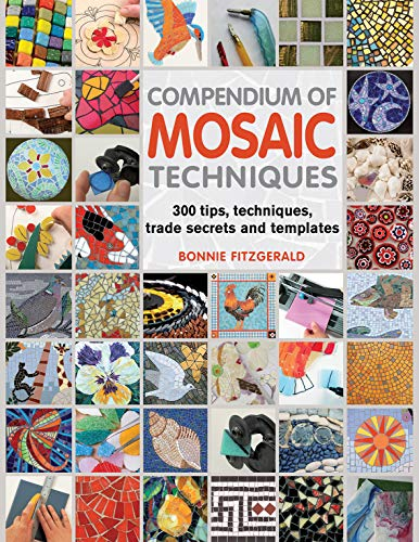 Compendium of Mosaic Techniques: 200 Tips, Techniques, Trade Secrets and Templates by Bonnie Fitzgerald