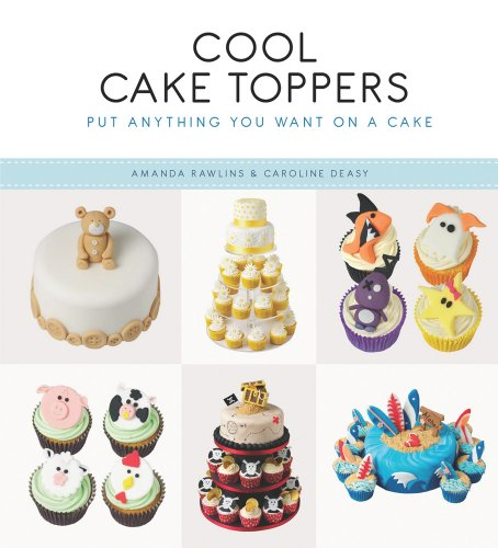 Cool Cake Toppers By Amanda Rawlins