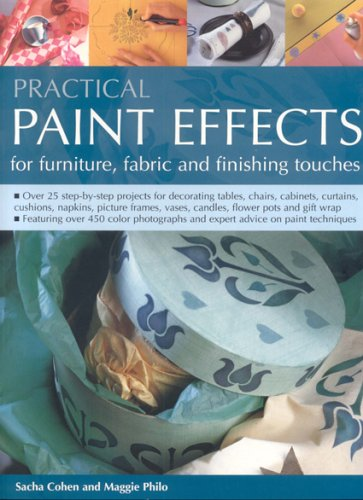 Practical Paint Effects for Furniture, Fabric and Finishing Touches By Sacha Cohen