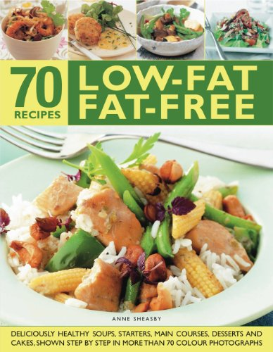 70 Low-fat Fat-free Recipes by Anne Sheasby