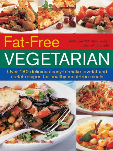 Fat-Free Vegetarian By Anne Sheasby