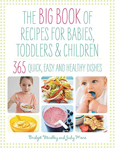 Big Book of Recipes for Babies, Toddlers & Children, 365 Quick, Easy and Healthy Dishes: From First Foods to Starting School (The Big Book Series) By B. L. Wardley
