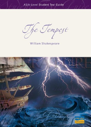 analysis of the epilogue of the tempest For the online version of bookrags' the tempest study guide analysis of these motivating factors is he releases ariel from servitude and speaks the epilogue.