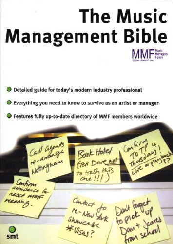 The Music Management Bible By Music Managers Forum