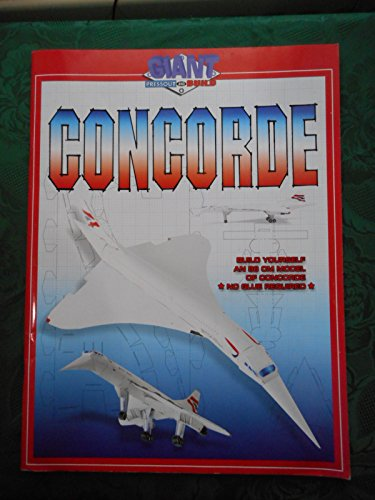 CONCORDE GIANT PRESSOUT AND BUILD MODEL