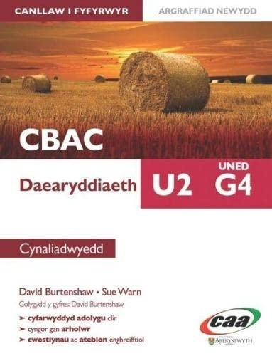 Daearyddiaeth U2 Uned G4: Cynaliadwyedd By David Burtenshaw