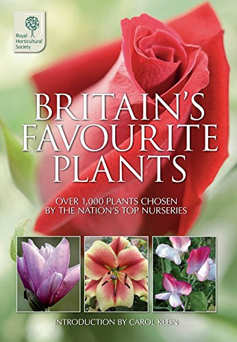Britain's Favourite Plants By The Royal Horticultural Society