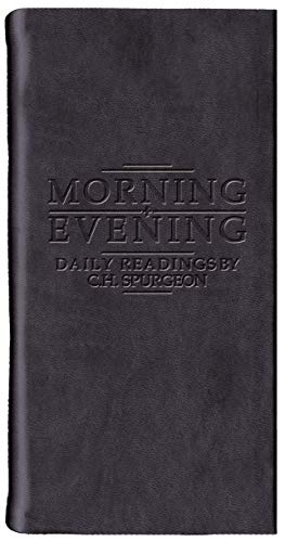 Morning And Evening - Matt Black By C. H. Spurgeon