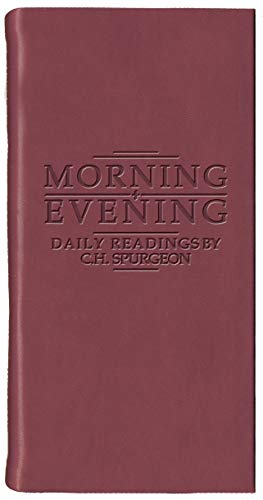 Morning And Evening - Matt Burgundy (Daily Readings) by C. H. Spurgeon