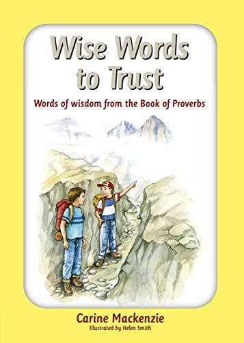 Wise Words to Trust By Carine MacKenzie