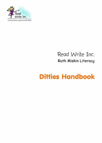 Read Write Inc.: Ditty Handbook By Ruth Miskin
