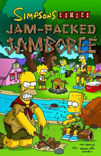 Simpsons Comics Jam-Packed Jambor by Matt Groening