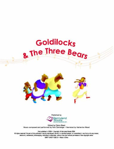 Goldilocks and the Three Bears By Clarie Black