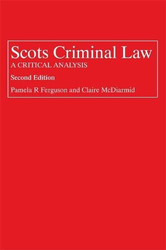 Scots Criminal Law By Pamela Ferguson