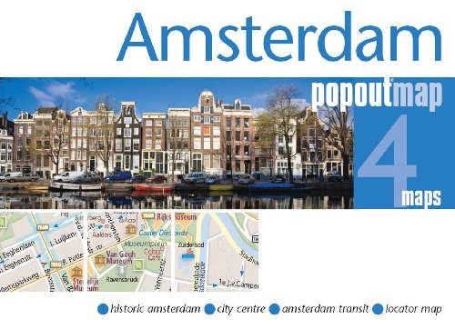 Amsterdam-Popout-Map-Popout-Maps-Book-The-Cheap-Fast-Free-Post