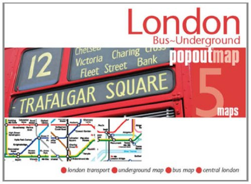 London Bus/underground PopOut Map By Popout Maps