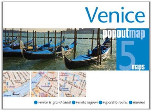 Venice PopOut Map By Popout Maps