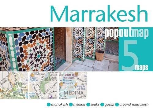 Marrakesh PopOut Map (PopOut Maps)