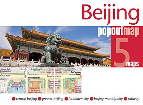 Beijing PopOut Map By Compass Maps