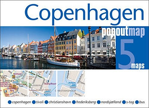 Copenhagen PopOut Map By Popout Maps
